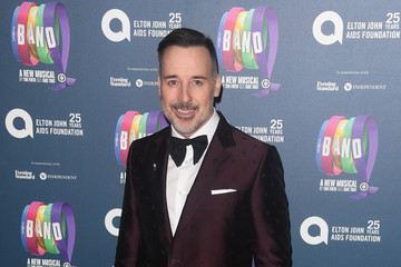 David Furnish 'The Band' Charity Gala Performance - Red Carpet Arrivals