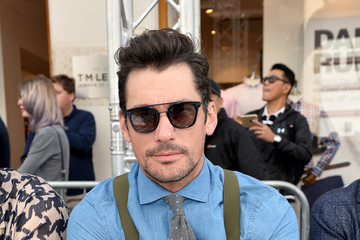 David Gandy Front Row & Arrivals: Day 2 - LFWM June 2017
