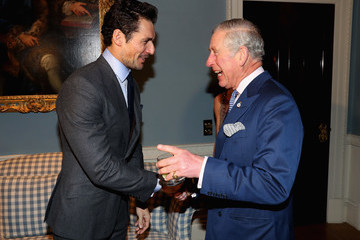 David Gandy The Prince Of Wales Attends The 'Style For Soldiers' Christmas Reunion Party