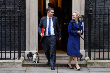 David Gauke Government Ministers Arrive For A Cabinet Meeting Ahead Of The Autumn Statement