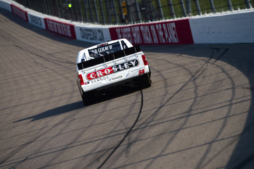 David Gilliland Iowa Speedway - Day 1