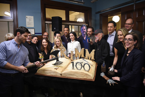 'Grimm' 100th Episode Ceremony and Cake Cutting