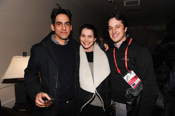 "David Greenbaum Hillary Baack Grey Goose Blue Door Fox Searchlight Pictures - ""Stocker"" And ""The East"" Party - 2013 Park City"
