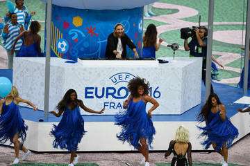 David Guetta France v Romania - Group A: UEFA Euro 2016