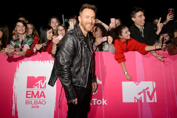 David Guetta MTV EMAs 2018 - VIP Arrivals