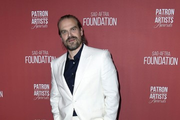 David Harbour SAG-AFTRA Foundation's 4th Annual Patron Of The Artists Awards - Arrivals