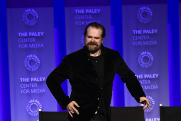 David Harbour The Paley Center For Media's 35th Annual PaleyFest Los Angeles - 'Stranger Things' - Inside