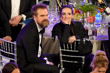 David Harbour 26th Annual Screen Actors Guild Awards - Inside