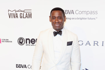 David Harewood 25th Annual Elton John AIDS Foundation's Oscar Viewing Party - Arrivals
