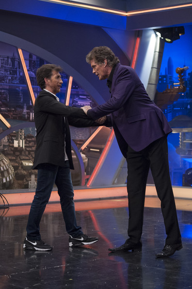 ¿Cuánto mide David Hasselhoff? - Real height David+Hasselhoff+Attends+El+Hormiguero+Tv+uzznz5qjrIul