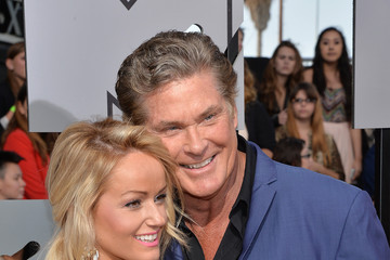 David Hasselhoff Arrivals at the MTV Movie Awards — Part 2