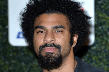 David Haye Daily Mirror Pride of Sport Awards