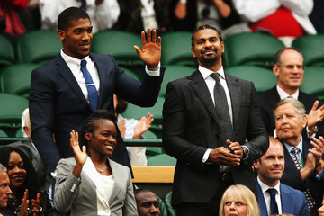 David Haye Day Six: The Championships - Wimbledon 2014