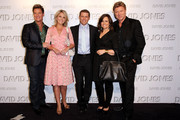 (L-R) Members of the Today show Richard Reid, Georgie Gardner, Karl Stefanovic, Lisa Wilkinson and Richard Wilkins arrive on the red carpet for the David Jones Autumn/Winter 2010 Fashion Launch at the Hordern Pavilion on February 10, 2010 in Sydney, Australia.