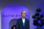 Anwar Hadid showcases designs by Sand during the David Jones Spring Summer 18 Collections Launch at Fox Studios on August 8, 2018 in Sydney, Australia.