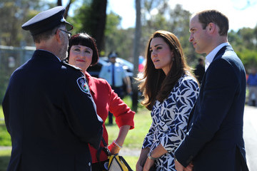 David Jones Prince William and Kate Middleton at Winmalee