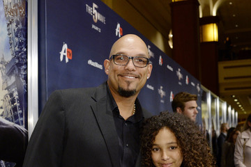 David Justice Screening of AwesomenessTV's 'The 5th Wave' - Red Carpet