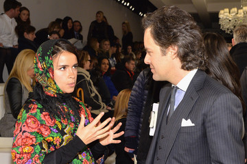 David Lauren Front Row at the Ralph Lauren Show