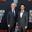 David Linde World Premiere Of Netflix's 'When They See Us'