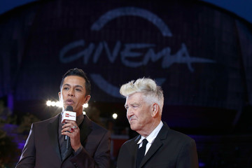 David Lynch David Lynch Red Carpet - 12th Rome Film Fest