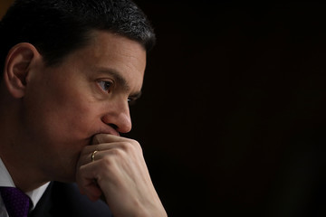 David Miliband Senate Foreign Relations Committee Holds Hearing on Ongoing Six-Year Syrian War