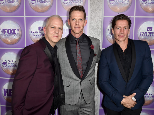 David miller and ryan murphy photos photos family - Il divo netflix ...