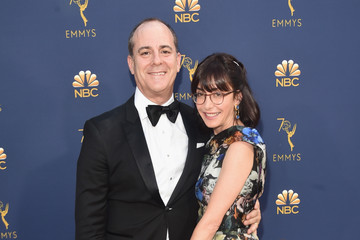 David Nevins Andrea Blaugrund Nevins 70th Emmy Awards - Executive Arrivals