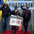 David Scott Las Vegas Entertainers Kick Off Pro-Mask Wearing Campaign With Fashion Show Amid Spike In COVID-19 Cases