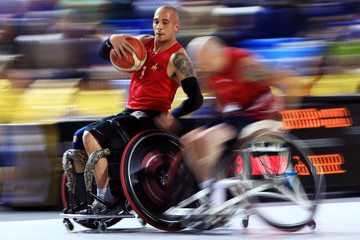 David Scott Invictus Games Toronto 2017 - Day 7