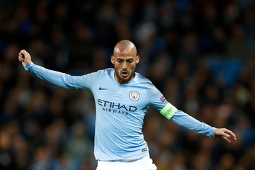 David Silva Manchester City v Olympique Lyonnais - UEFA Champions League Group F
