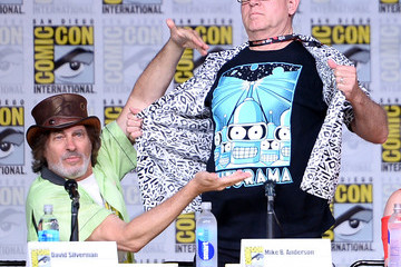 David Silverman Comic-Con International 2016 - 'The Simpsons' Panel