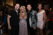(L-R) Ice-T, Coco, David Tutera and Letesha Marrow attend David Tutera's CELEBrations: Ice-T & Coco's Pre-Birthday Party For Baby Chanel at Cedar Lake Events on October 22, 2015 in New York City.