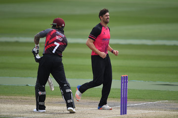 David Wiese Sussex v Somerset - Royal London One-Day Cup