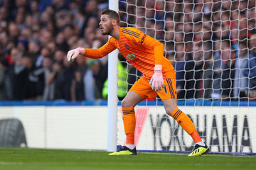 David de Gea Chelsea FC v Manchester United - Premier League
