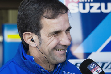 Davide Brivio MotoGp Tests in Valencia