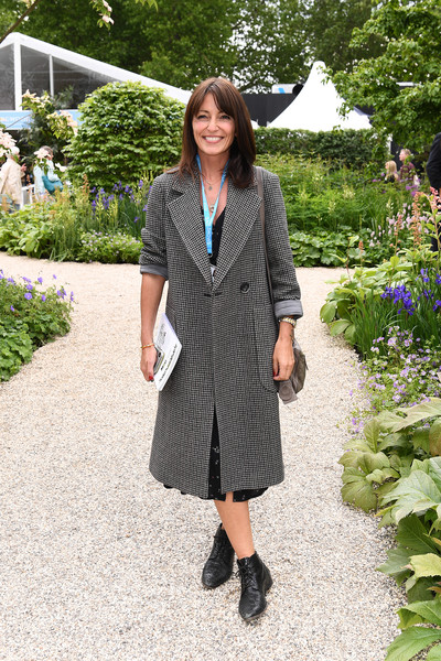 RHS Chelsea Flower Show 2019 - Press Day [clothing,outerwear,fashion,footwear,street fashion,coat,snapshot,botany,shoe,dress,england,london,rhs chelsea flower show,davina mccall]