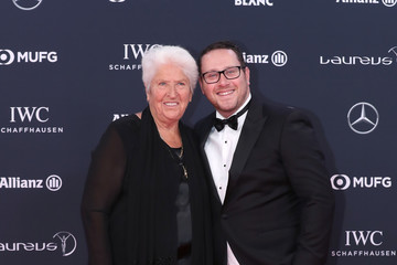 Dawn Fraser Red Carpet - 2018 Laureus World Sports Awards - Monaco