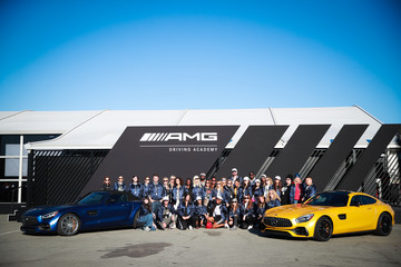 Dawn McCoy Samantha Barry Glamour And Mercedes-Benz AMG Driving Academy Experience At Laguna Seca
