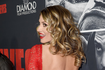 Dawn Olivieri Premiere of STX Films' 'Den of Thieves' - Red Carpet