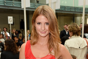Millie Mackintosh attends the Julien Macdonald show during London Fashion Week Spring Summer 2015 at Somerset House on September 13, 2014 in London, England.