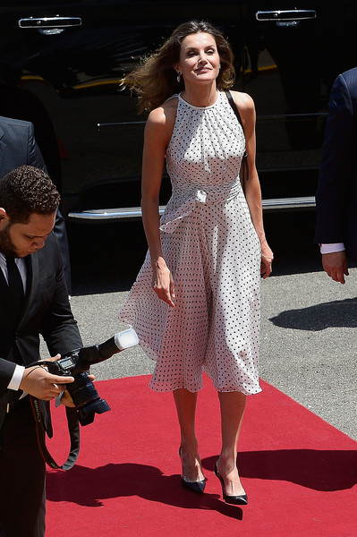 Day 2- Queen Letizia's Third Cooperation Trip To Dominican Republic And Haiti