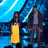 Morgan Freeman Amanda Gorman Photos - Amanda Gorman (L) and Morgan Freeman speak onstage at WE Day California at The Forum on April 19, 2018 in Inglewood, California. - WE Day California To Celebrate Young People Changing The World