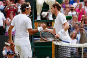Roger Federer Andy Murray Photos Photo