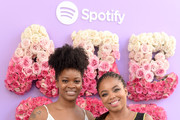 Ari Lennox (L) and Jemele Hill attend the Spotify House Of Are & Be Black Girl Magic Day Party on July 06, 2019 in New Orleans, Louisiana.