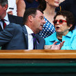 Billie Jean King and Philip Brook Photos