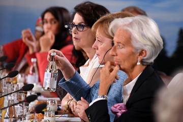 Dayle Haddon Heads Of State Attend G7 Meeting - Day Two