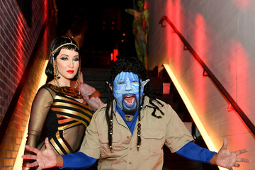 Daymond John Heidi Klum's 20th Annual Halloween Party - Inside