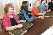Actors Maree Cheatham, Sal Stowers, Mary Beth Evans and James Lastovic attend the Days of Our Lives book signing at Barnes and Noble at The Grove on October 25, 2015 in Los Angeles, California.