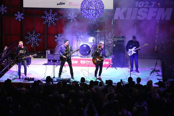 De'mar Hamilton Westfield Century City Presents 'Live at the Atrium' Holiday Concert Series in Partnership with KIISFM - Plain White T's