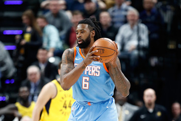 DeAndre Jordan Los Angeles Clippers v Indiana Pacers